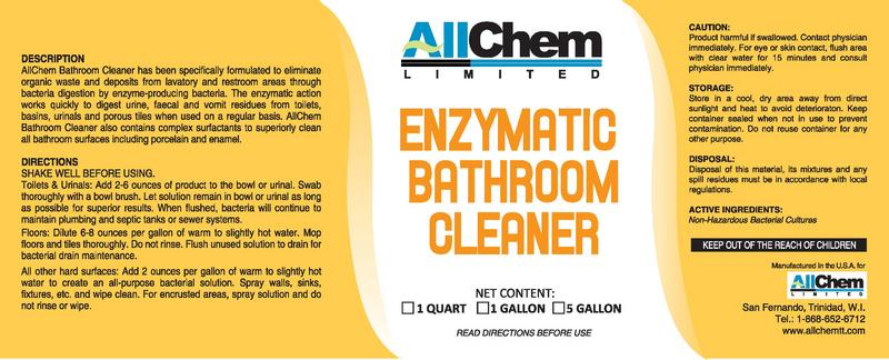 Enzyme Bathroom Cleaner Bathroom Design Ideas