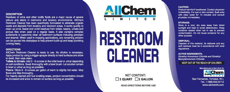 Bathroom care allchem limited for 9 bathroom cleaning problems solved